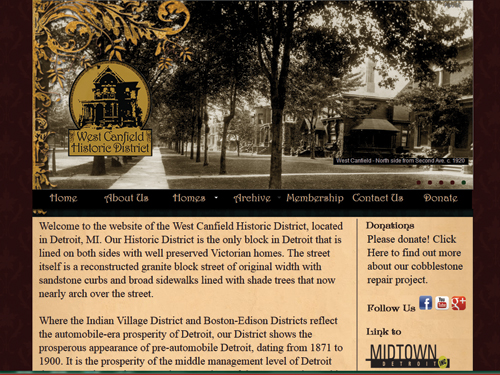 West Canfield Website